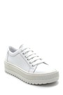5638292387 Kadın Deri Sneaker