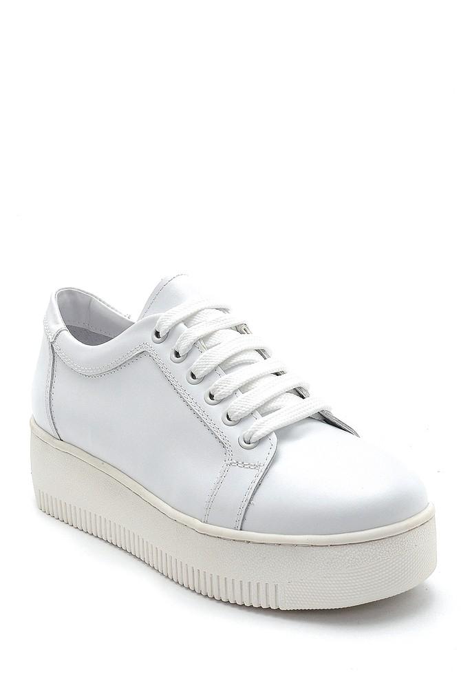 5638292393 Kadın Deri Sneaker