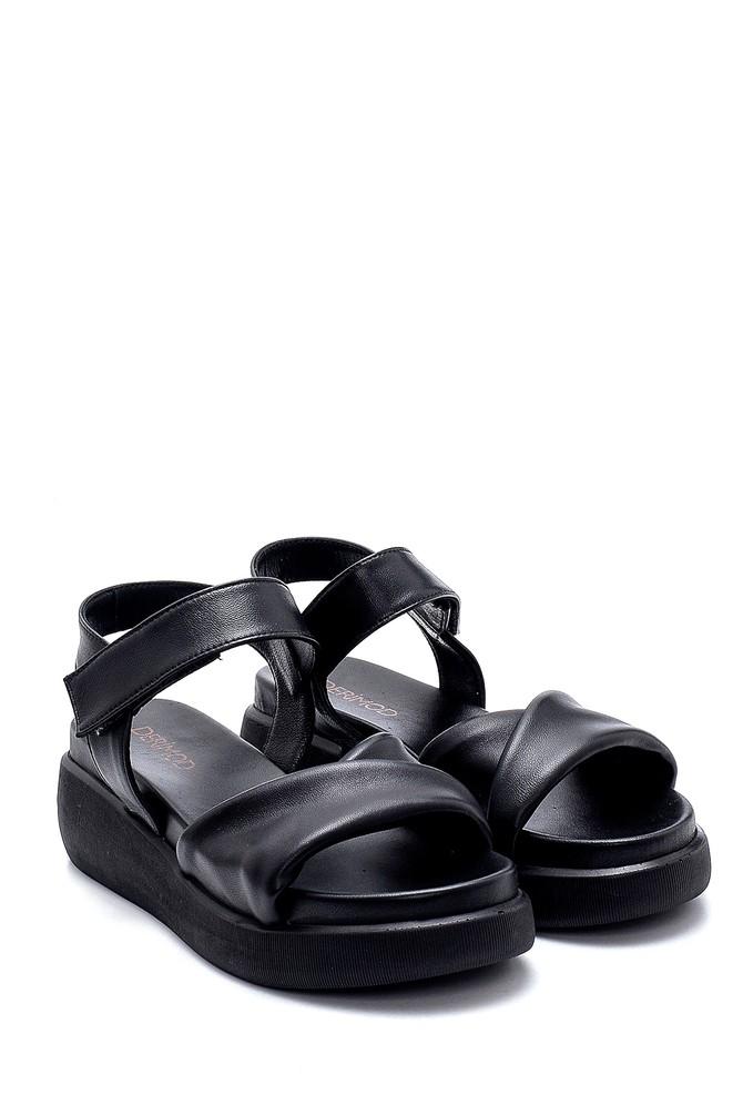 5638279346 Kadın Deri Sandalet