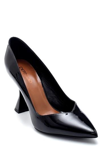Siyah Kadın Topuk Detaylı Stiletto 5638213719
