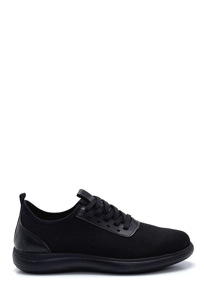 5638245978 Erkek Deri Detaylı Sneaker