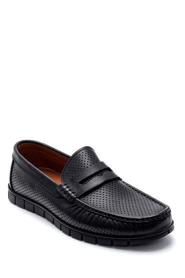 Siyah Erkek Deri Loafer 5638251415