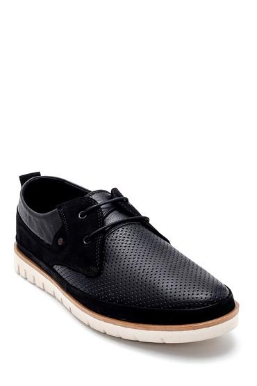 Siyah Erkek Deri Casual Ayakkabı 5638273075