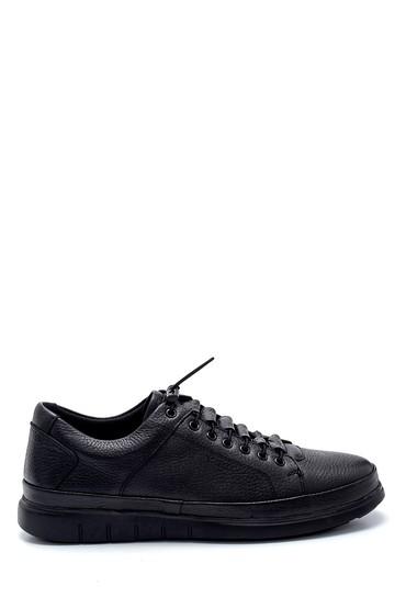 Siyah Erkek Deri Sneaker 5638273134
