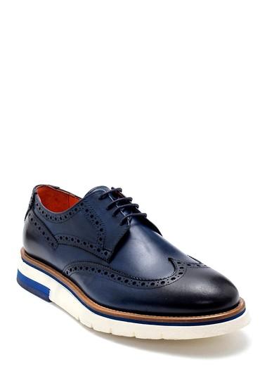 Lacivert Erkek Deri Casual Ayakkabı 5638277010