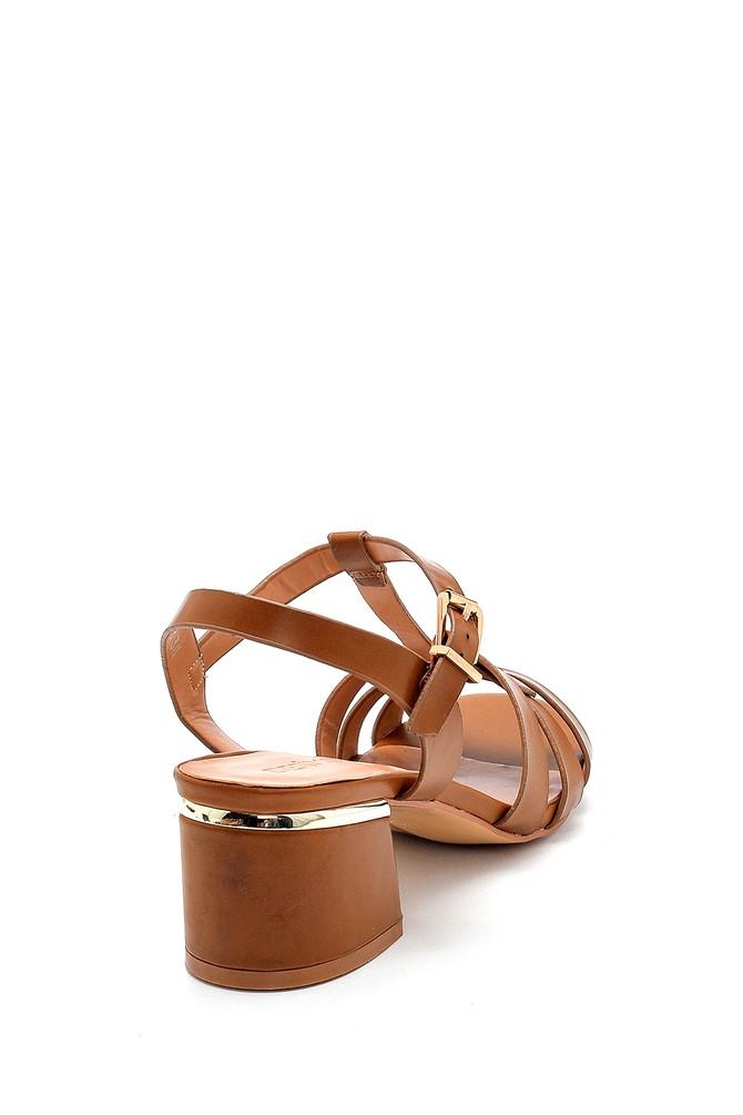 5638271544 Kadın Topuklu Sandalet