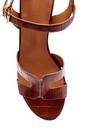 5638271707 Kadın Kroko Desenli Sandalet
