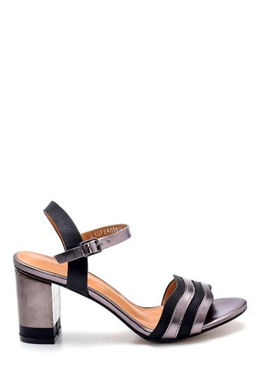 Siyah Kadın Topuklu Sandalet 5638271774