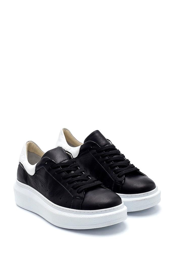 5638291338 Kadın Deri Sneaker