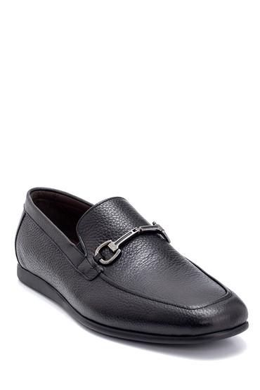 Siyah Erkek Deri Loafer 5638247255