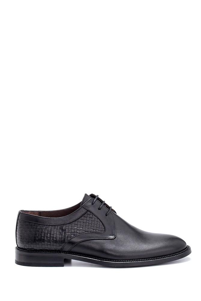 Siyah Erkek Deri Klasik Ayakkabı 5638250899