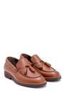 5638251041 Erkek Deri Püskül Detaylı Loafer
