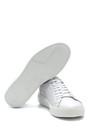 5638254819 Erkek Deri Baskılı Sneaker