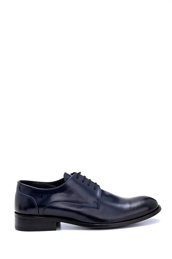 Lacivert Erkek Deri Klasik Ayakkabı 5638256954