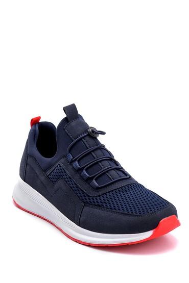 Lacivert Erkek Deri Sneaker 5638259564