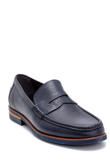 Lacivert Erkek Deri Loafer 5638270057
