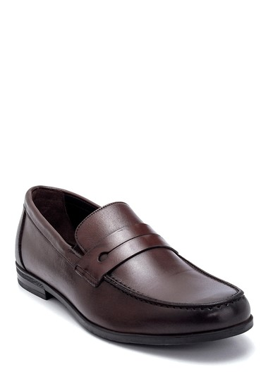 Kahverengi Erkek Deri Loafer 5638276977