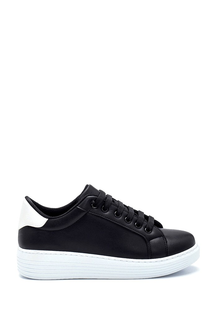 Siyah Kadın Sneaker 5638277308