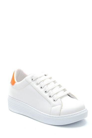 Beyaz Kadın Sneaker 5638277309