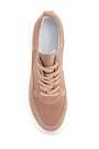 5638284620 Kadın Süet Deri Kalın Tabanlı Sneaker