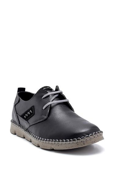 Siyah Erkek Deri Casual Ayakkabı 5638248618
