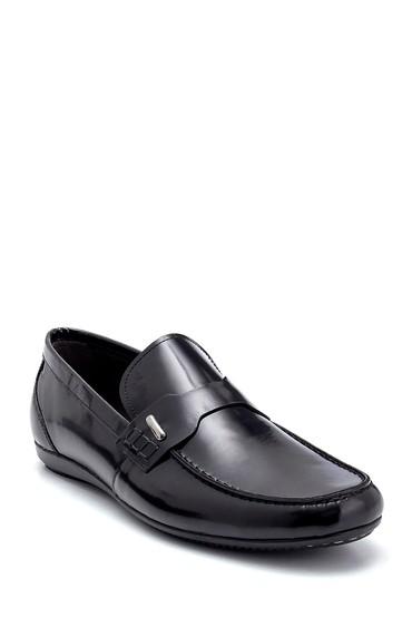 Siyah Erkek Deri Loafer 5638249616
