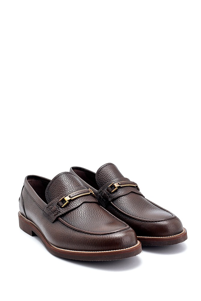 5638249918 Erkek Deri Klasik Loafer