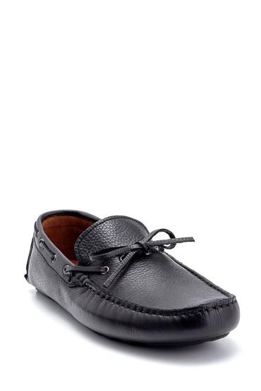 Siyah Erkek Deri Loafer 5638250540