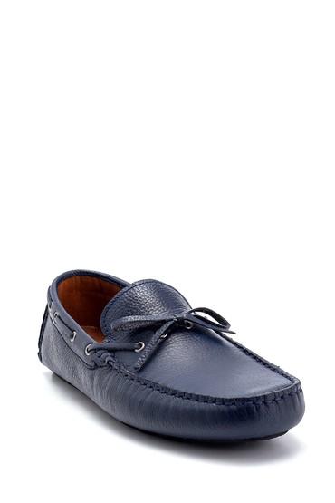 Lacivert Erkek Deri Loafer 5638250542