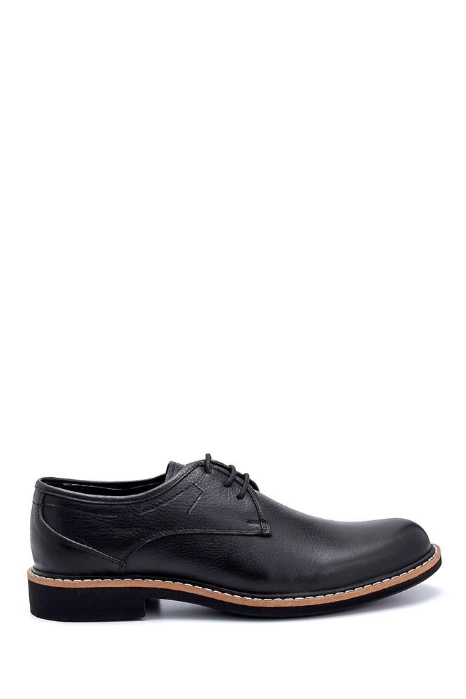 Siyah Erkek Deri Casual Ayakkabı 5638252578