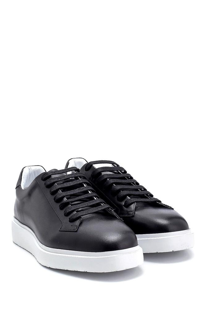5638275486 Erkek Deri Sneaker