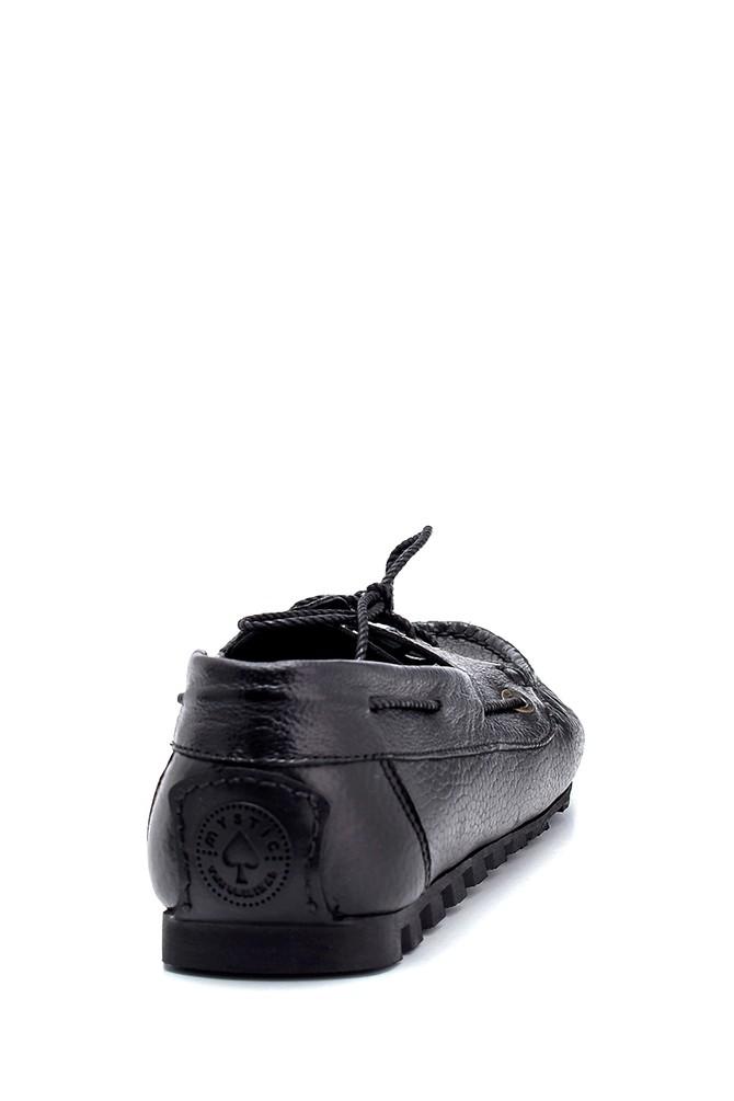 5638275990 Erkek Deri Bağcık Detaylı Casual Ayakkabı