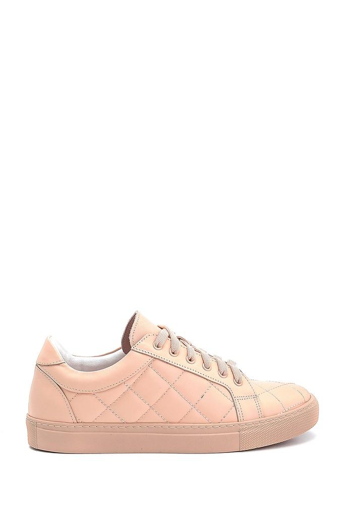 Pudra Kadın Deri Sneaker 5638288431