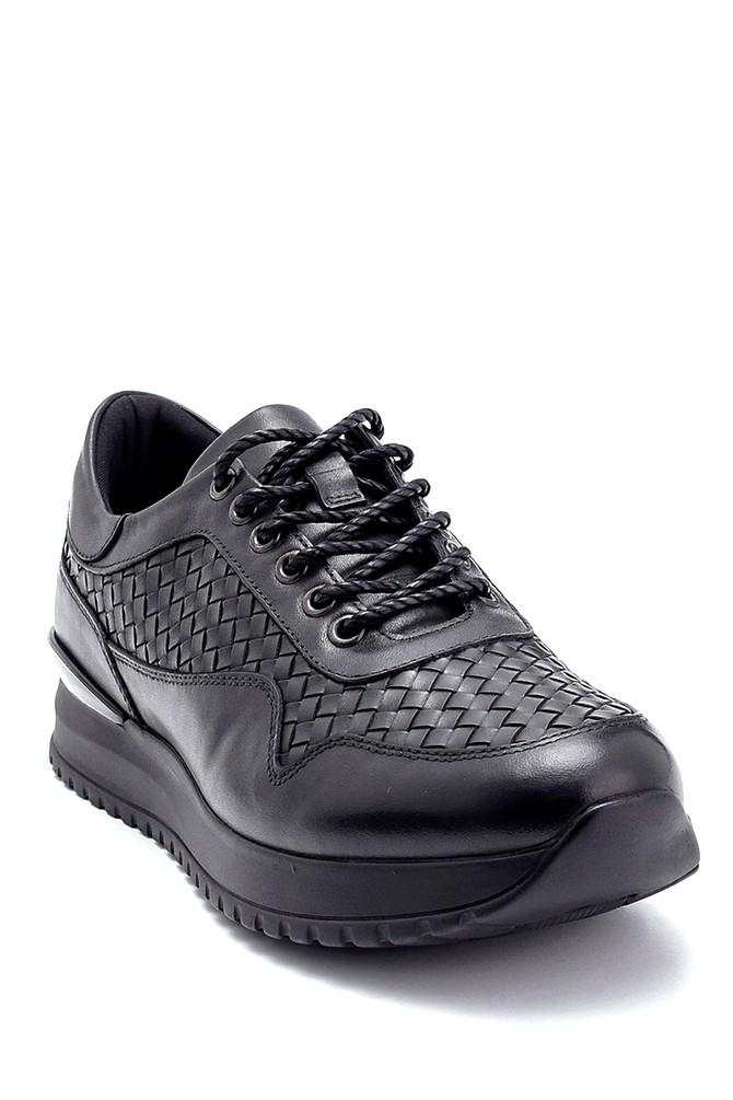 5638291604 Erkek Deri Sneaker