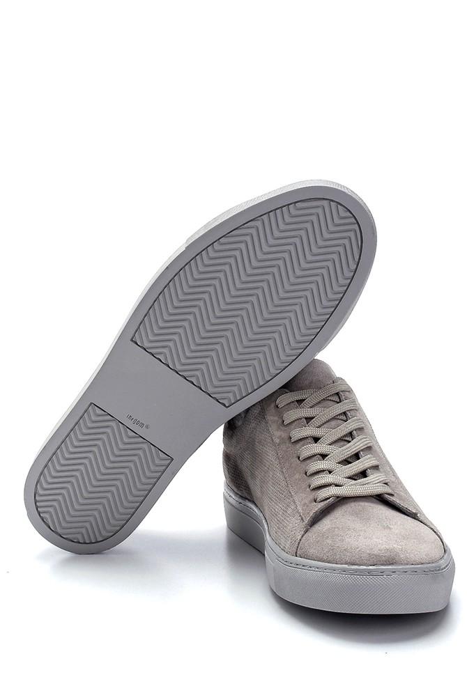 5638245748 Erkek Süet Deri Sneaker