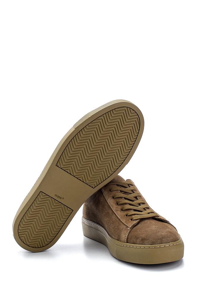 5638245746 Erkek Süet Deri Sneaker