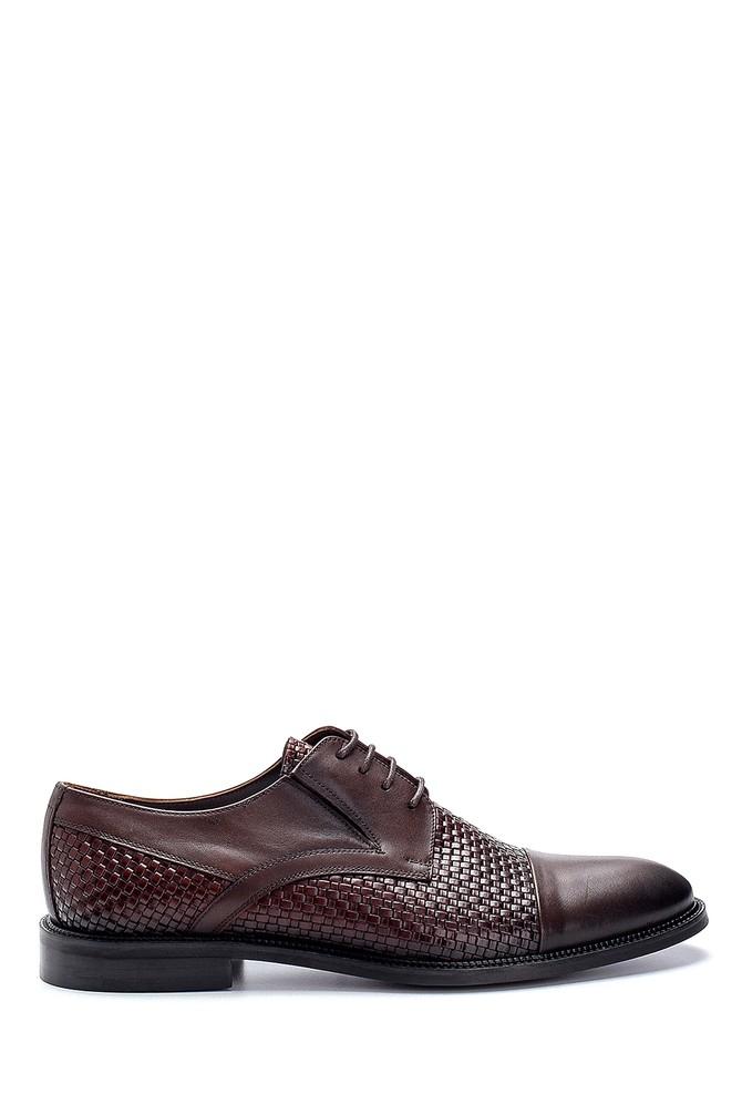 Kahverengi Erkek Deri Klasik Ayakkabı 5638250338