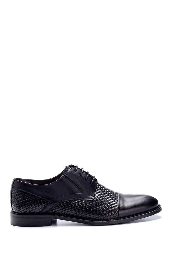 Siyah Erkek Deri Klasik Ayakkabı 5638250332