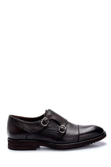 Kahverengi Erkek Deri Klasik Ayakkabı 5638266908