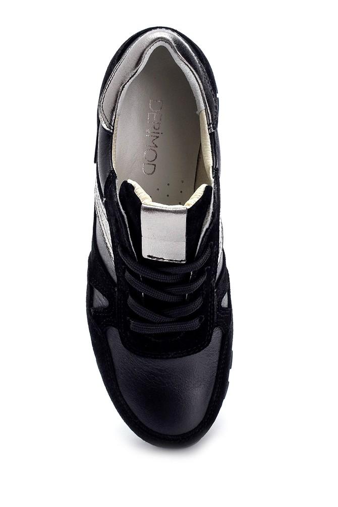 5638272941 Kadın Deri Sneaker