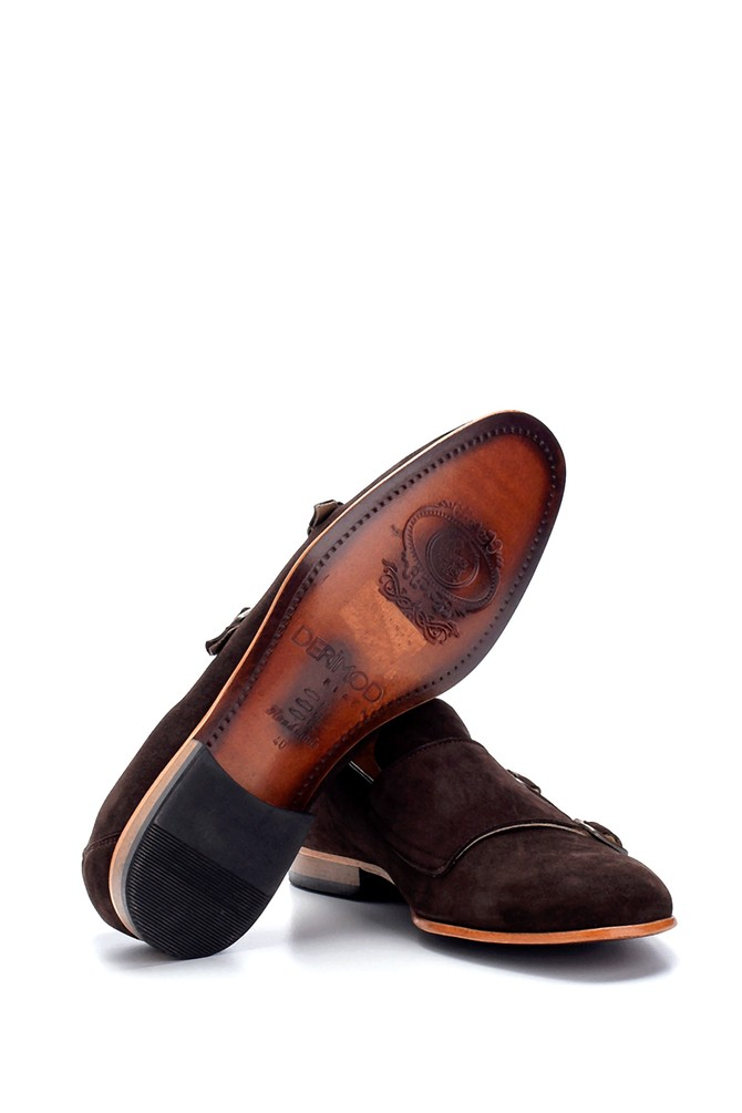 5638275414 Erkek Süet Klasik Ayakkabı