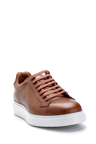 Taba Erkek Deri Sneaker 5638275478