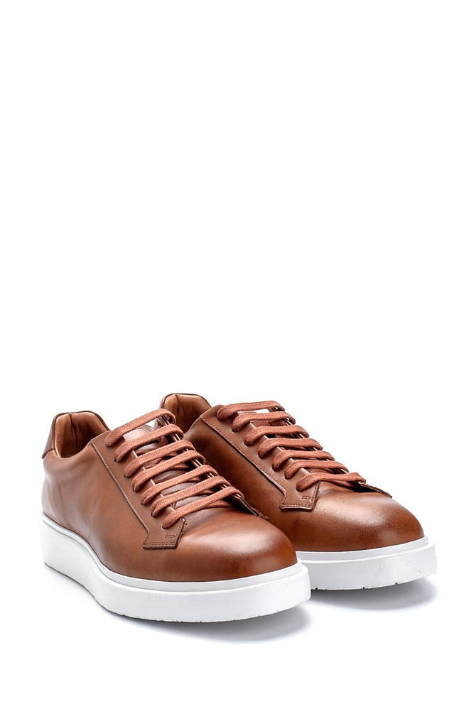 5638275478 Erkek Deri Sneaker