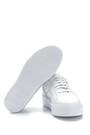 5638275545 Erkek Deri Fermuar Detaylı Sneaker