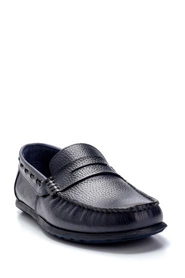 Lacivert Erkek Deri Loafer 5638275940