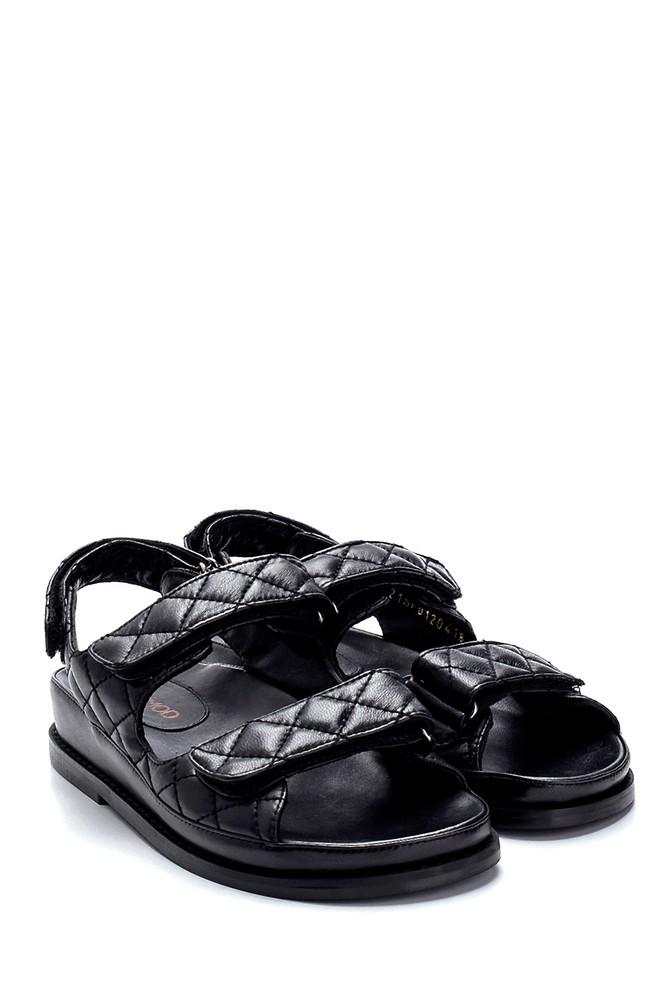 5638286906 Kadın Deri Sandalet