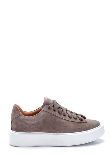 Vizon Kadın Süet Sneaker 5638288473