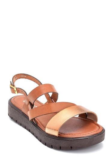Taba Kadın Deri Sandalet 5638255331
