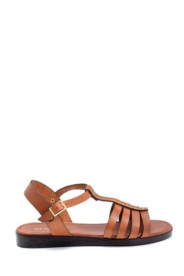 Taba Kadın Deri Sandalet 5638255421