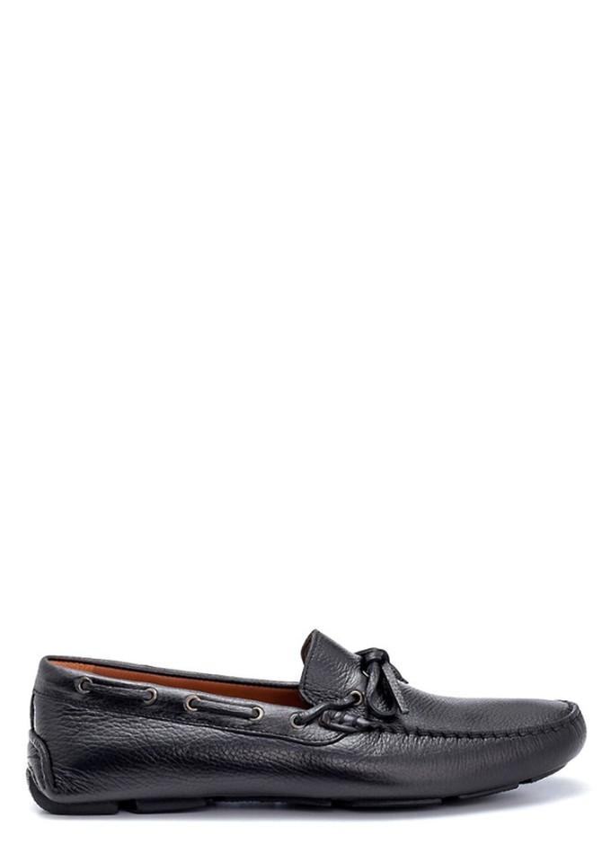Siyah Erkek Deri Klasik Loafer 5638265864